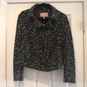 NWT Banana Republic Tweed Zipper Jacket
